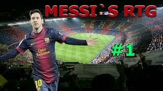 Fifa 15 Ultimate Team | NY SERIE! | Messi`s RTG! | #1