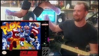Plok Guitar Cover (SNES Video Game Music)