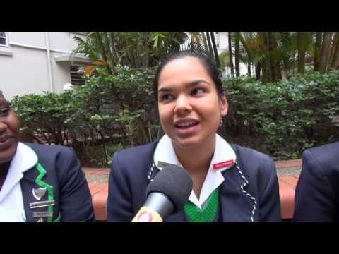 It's the end of school for the matrics at Durban Girls High