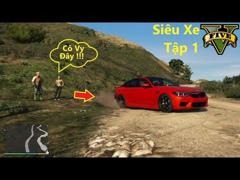 GTA 5 Siêu Xe #1 BMW F90 Chở Cả Gia Đình Michael Đi Tránh Dịch Cô Vy Lên Núi Cao Nhất Và Cái Kết