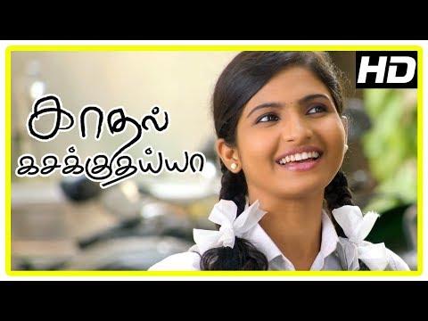 Kadhal Kasakuthaiya Movie Scenes | Venba and Dhruvva argue | Friends try convincing Dhruvva