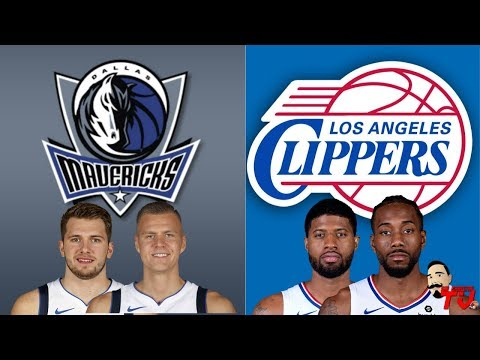 Nba Live Stream Dallas Mavericks Vs Los Angeles Clippers Live Reaction Play By Play