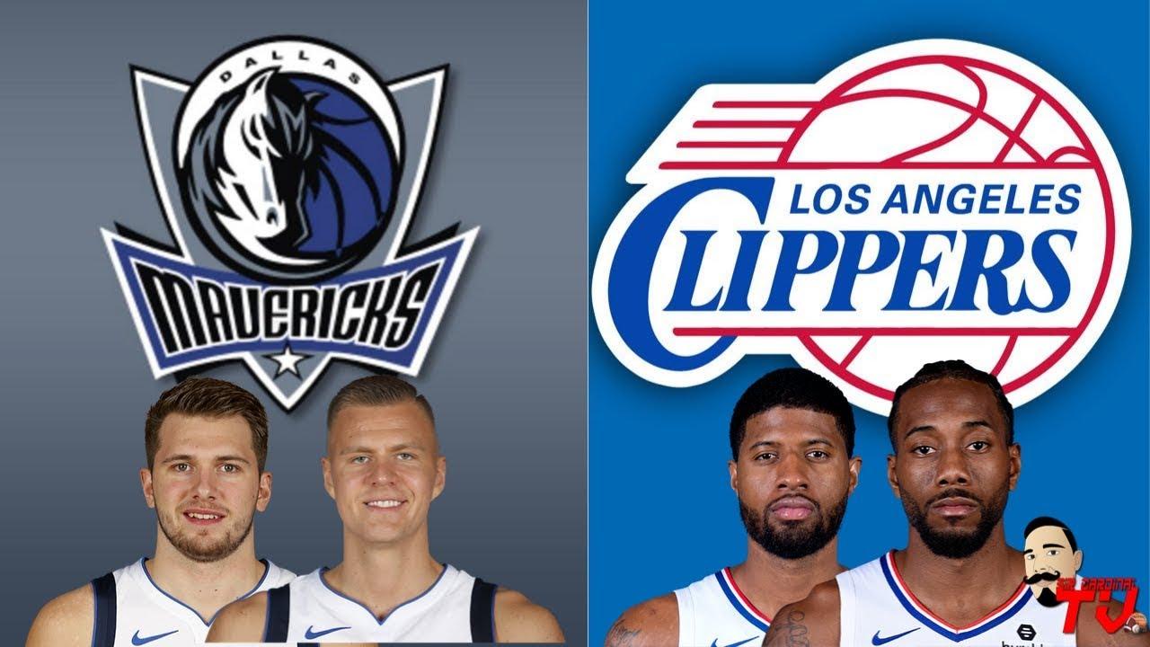 Nba Live Stream Dallas Mavericks Vs Los Angeles Clippers Live Reaction Play By Play