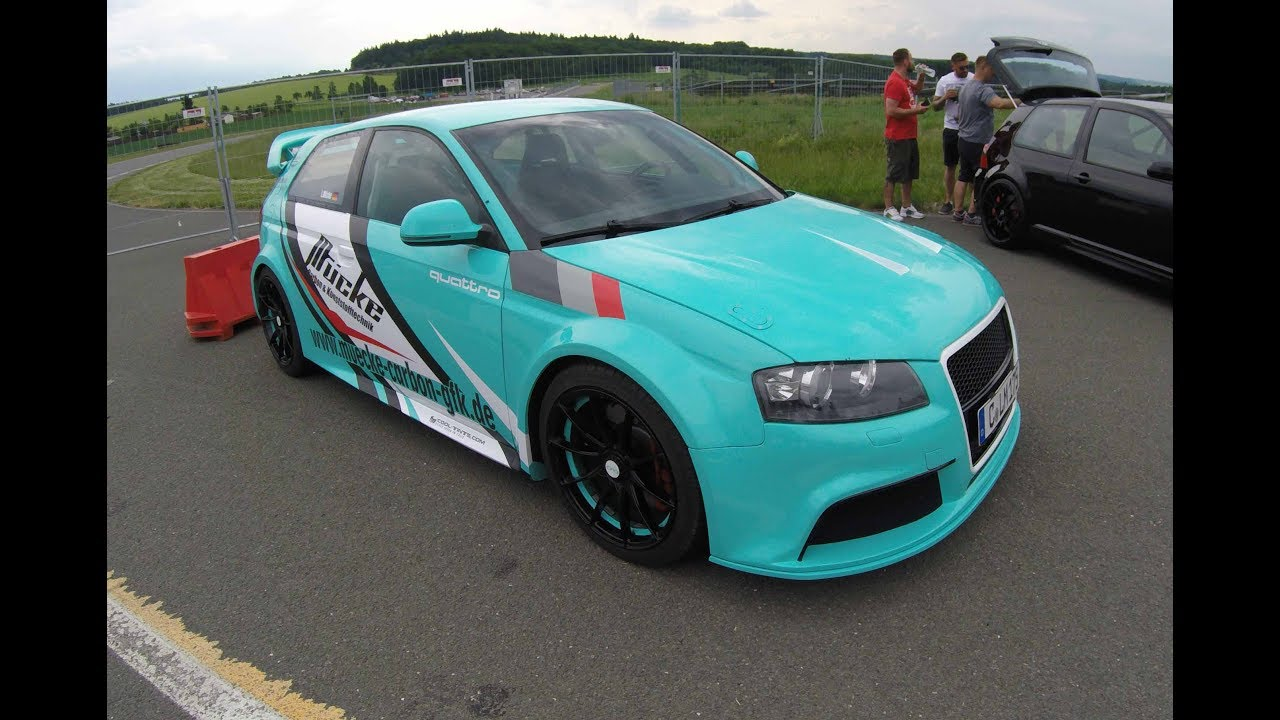 carbon racing watch walkaround body widebody parts with audi gfk car coupe