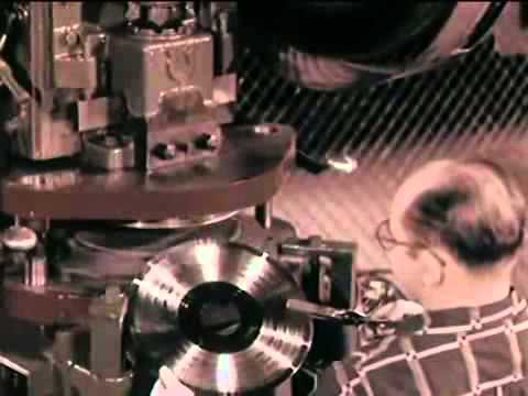 Old documentary about vinyl records 1956