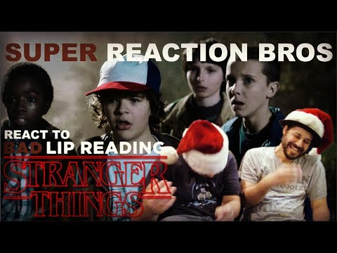 SRB Reacts to Stranger Things: A Bad Lip Reading
