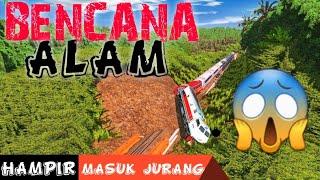 Apa Yang Terjadi Jika Rel Tertimbun Longsoran Tanah | Trainz Simulator Indonesia 2019 Video