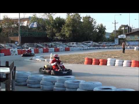 """F1 FANS KART Challenge """"ATHENS"""" 2013 - RACE 9- ( 3D ) - RACE ΚΑΙ ΒΑΘΡΟ"""