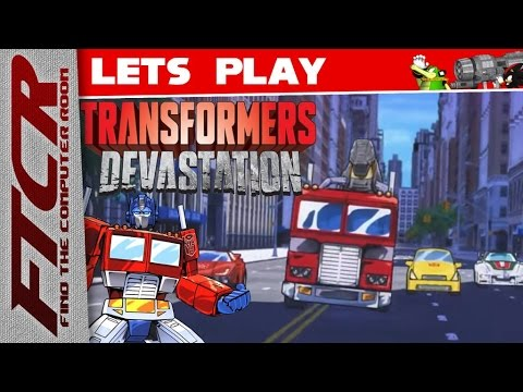 """'Transformers: DEVASTATION' Let's Play - Part 1: """"You Uuuhhhhhhhh Think The Decepticons Did This?"""""""