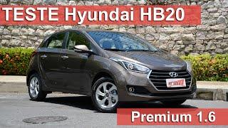 Hyundai HB20 Premium 1.6 é boa opção entre os compactos, mas cobra caro por isso