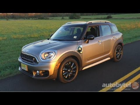 2018 Mini E Countryman All4 Plug In Hybrid Test Drive Video Review