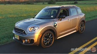 2018 MINI E Countryman ALL4 Plug-In Hybrid Test Drive Video Review