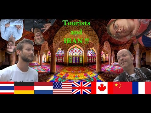 Tourists in Iran! (Tourist vlog (Shiraz))