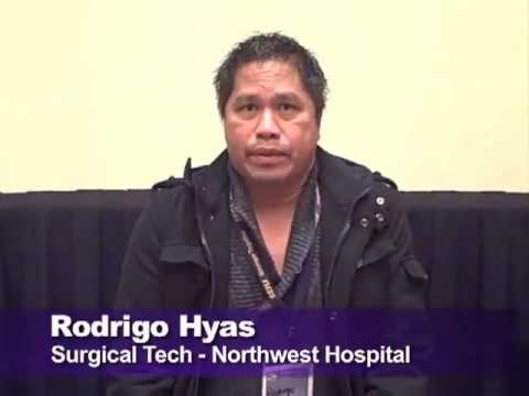 Funding to advance our careers: Rodrio Hyas, Surgical Tech, Northwest Hospital (Seattle)