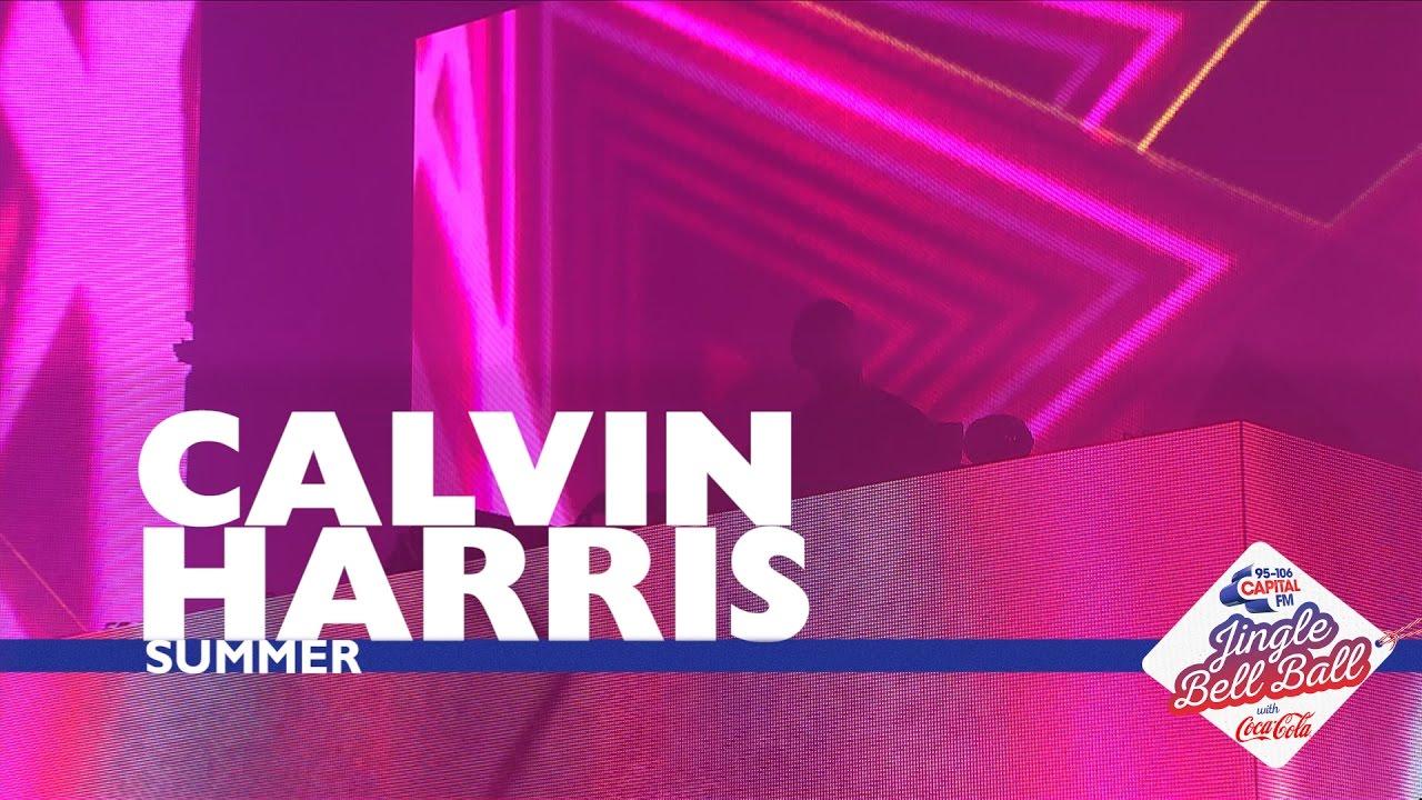 Calvin Harris Summer Live At Capital S Jingle Bell Ball 2016