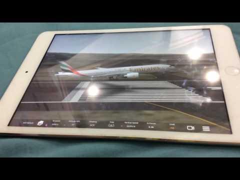 Nice landing infinite flights Emirates