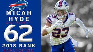 #62: Micah Hyde (S, Bills) | Top 100 Players of 2018 | NFL