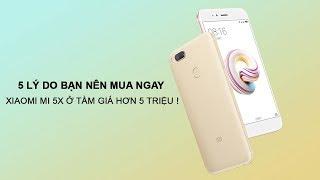 Đây là 5 lý do bạn nên mua ngay Xiaomi Mi 5X ở tầm giá hơn 5 triệu !
