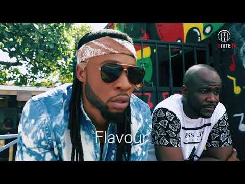 Flavour - Baby Na Yoka [Behind the scenes studio recording and video shoot]