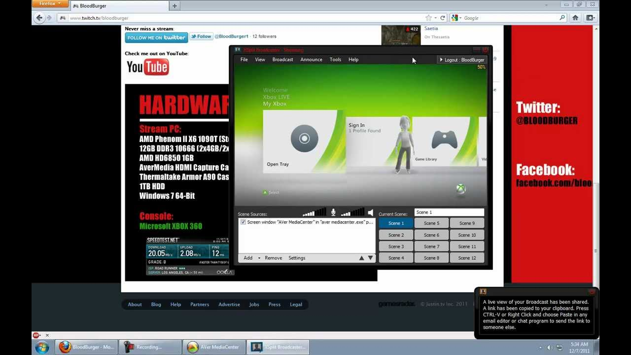 How to stream console xbox ps3 wii games with xsplit avermedia hdmi youtube - How to stream console games ...