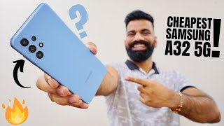 The Cheapest Samsung 5G Smartphone - Galaxy A32 5G Unboxing🔥🔥🔥