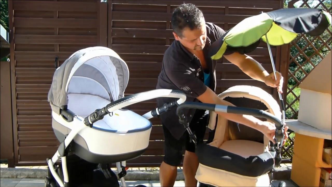 Sonnenschirm Fur Kinderwagen Fur Alle Gangigen Modelle Youtube