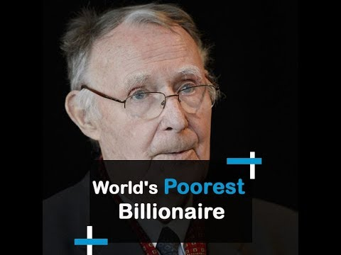 kamprad The poorest billionaire