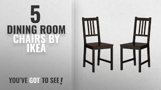 Top 10 Ikea Dining Room Chairs [2018]: Ikea Wood Chairs Dining Room Kitchen Dinette 2 Chairs
