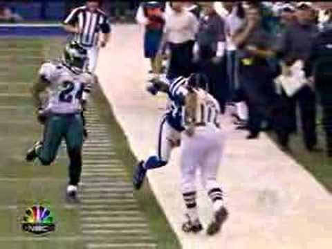 Reggie Wayne Catch vs. Philly
