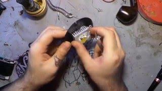Як зробити сверхяркий ліхтар 10 ватт
