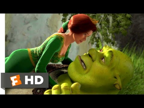 Shrek (2001) - Love in the Air Scene (7/10) | Movieclips