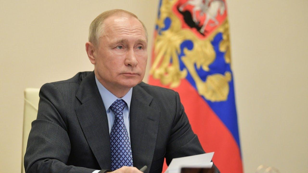 Большое выступление Путина по ситуации с коронавирусом. Полное видео