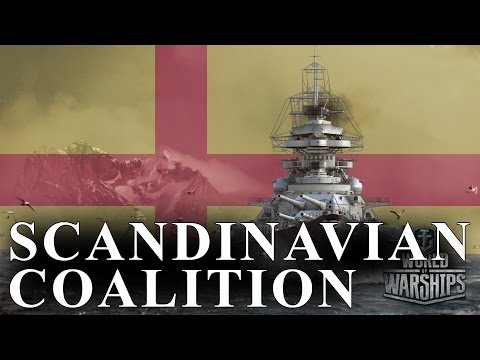 Scandinavia in World of Warships - Finnish, Swedish, Danish, and Norwegian Warships
