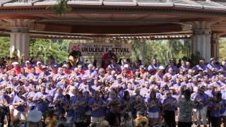 "Ukulele Festival Hawaii 2015 – Strummers ""twist & Shout"" & ""jamaica Farewell"""