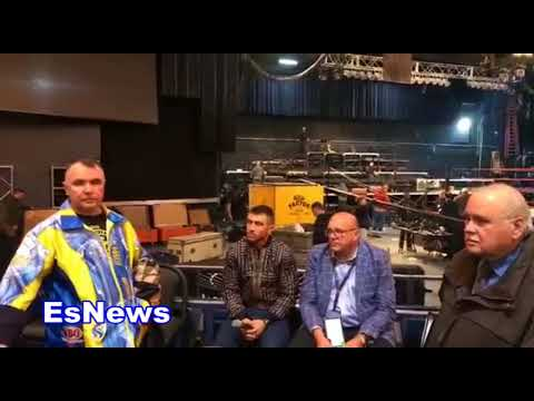 """Vasyl Loamchenko On Fighting Mikey Garcia """"At 135 I Will Feel Like Rigodeaux Fighting Me"""""""