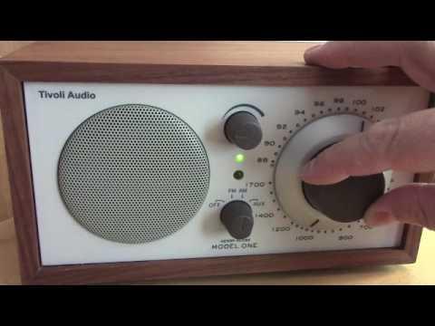 Tivoli Model One AM FM table radio.