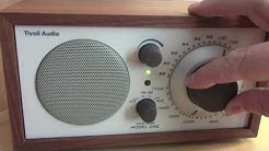 Tivoli Model One AM FM table radio.
