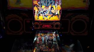 KISS pinball's New soundtrack @ Flat Top Johnny's