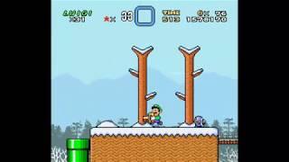 SMW Hack - Luigi's Misadventures: Tsux Namine's Factor (10)