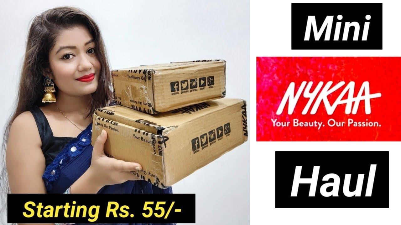Mini Nykaa Haul 2021 | Essentials/Makeup/Skincare & Healthcare || Krrish Sarkar