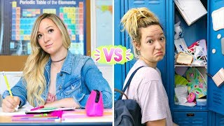 Video First Day of School vs Last Day of School! Alisha Marie download MP3, 3GP, MP4, WEBM, AVI, FLV Agustus 2017