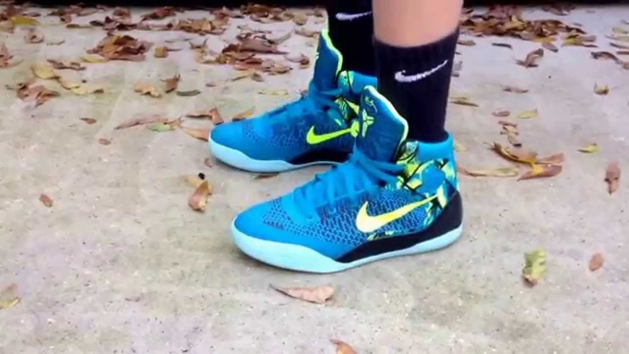 new concept 4c432 35d54 nike kobe 9 gs perspective