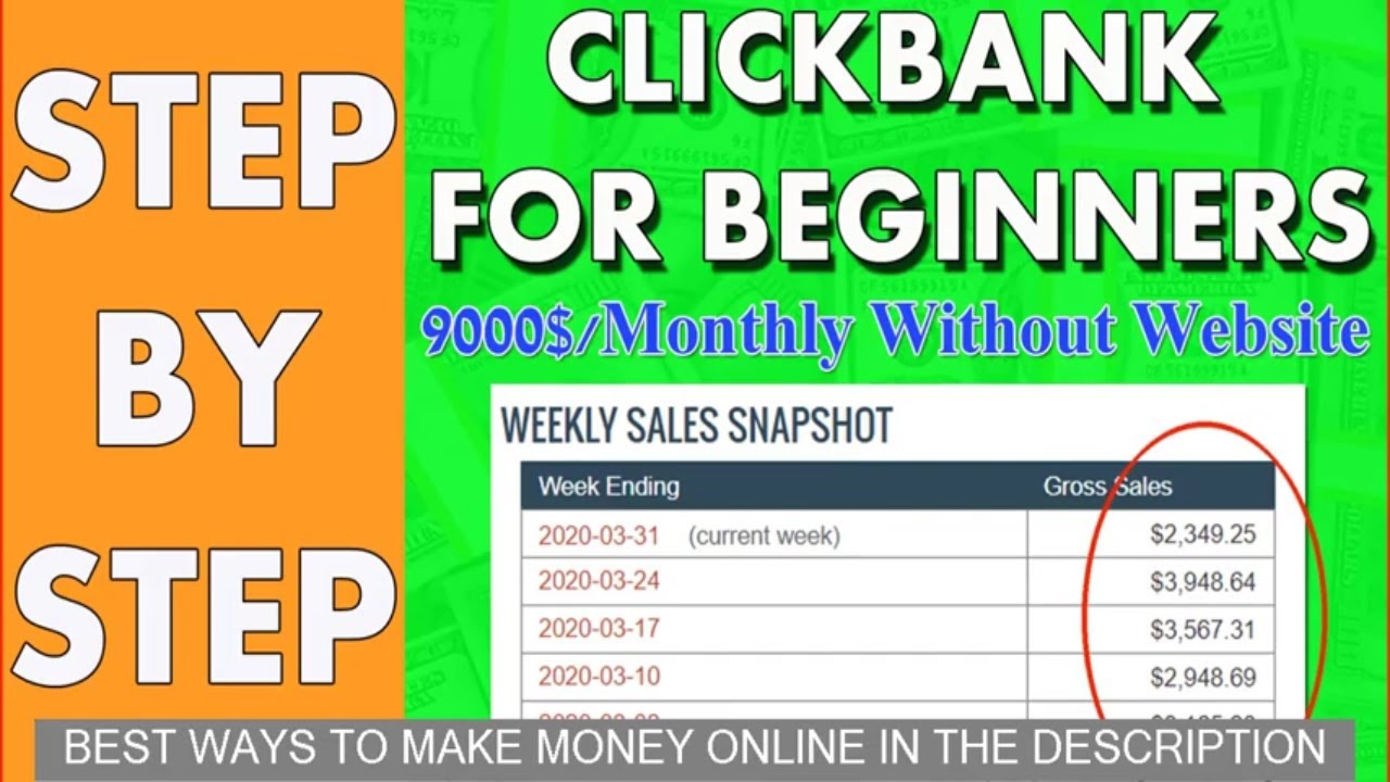 Fastest Way To Make Money Online With Clickbank
