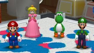 Mario Party 8 - All 2 Vs 2 Minigames