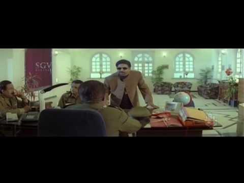 Dr Vishnuvardhan Hits Dialogues Scenes | Kotigobba Kannada Movie Scenes