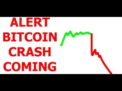 ALERT  - BITCOIN CRASH COMING