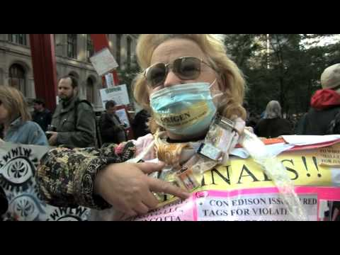Voices from Occupy Wall Street, Carbon Monoxide Poison Lady