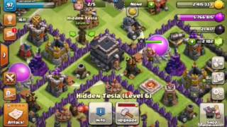 Clash of clans braching for gold