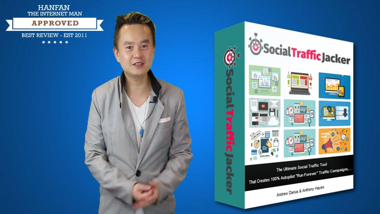 social traffic jacker review preview   bonus  review  youtube