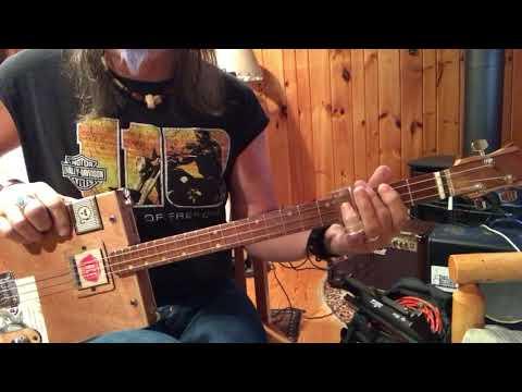 Georgia Peaches lesson for your 3 string Cigar Box Guitar